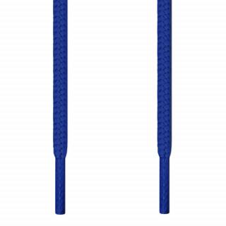 Round blue shoelaces